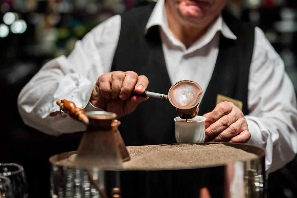 кофе, турецкий кофе, песок, кофе на песке
