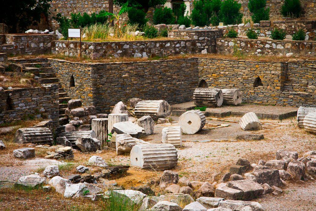Мавзолей в Геликарнасе , Турция