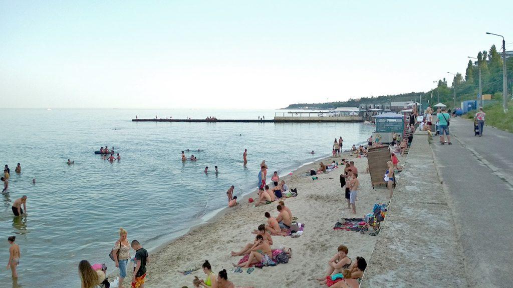 Одесса. Пляжи Большого Фонтана