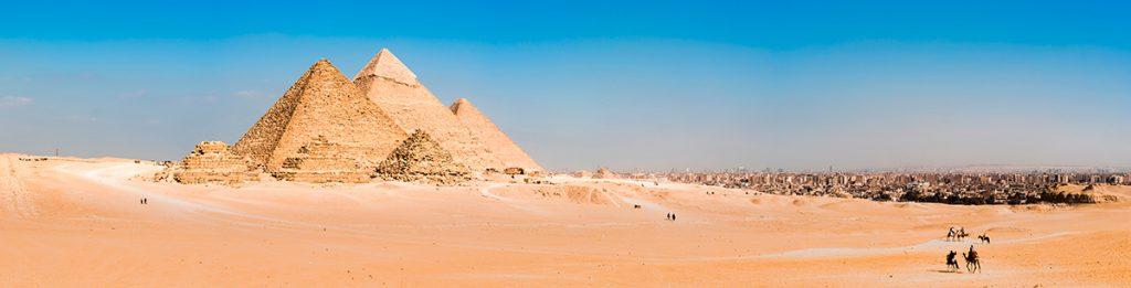 Египет, пирамиды, пустыня
