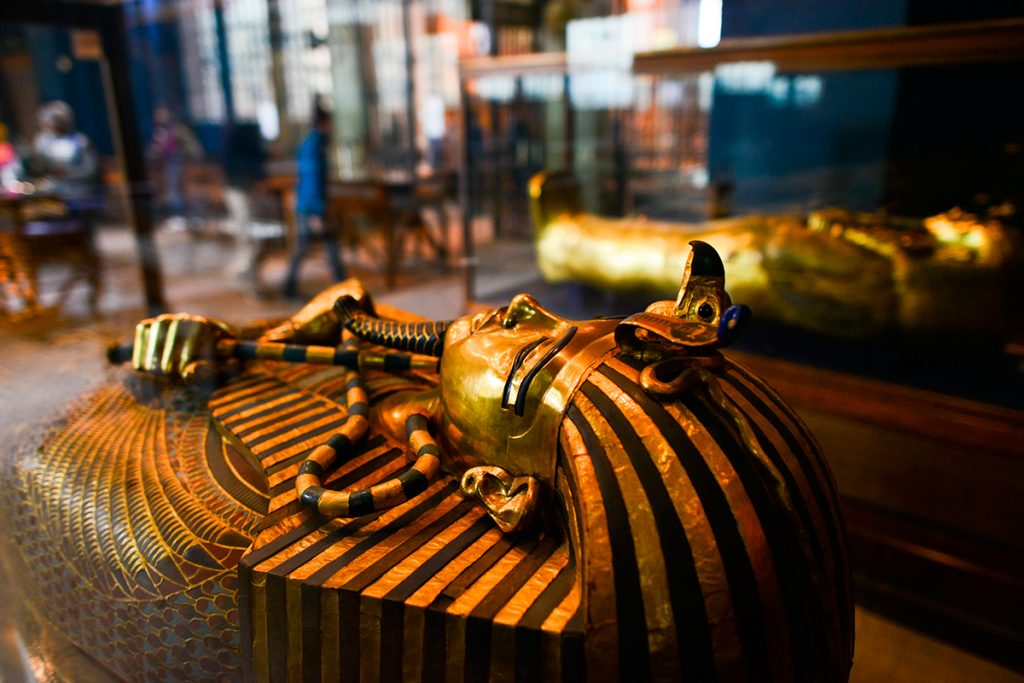 гробница Тутанхамона, Египет, музей