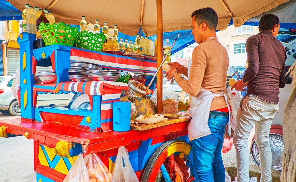 Египет, еда. торговля