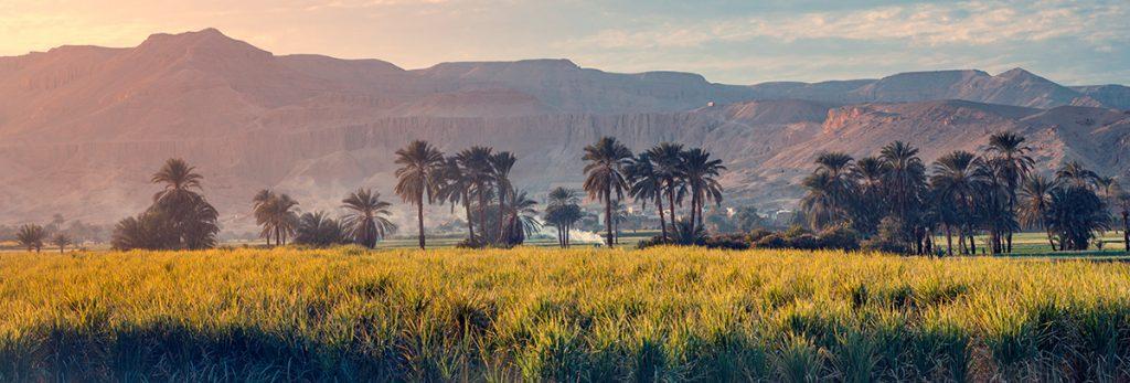 Нил, Египет, история