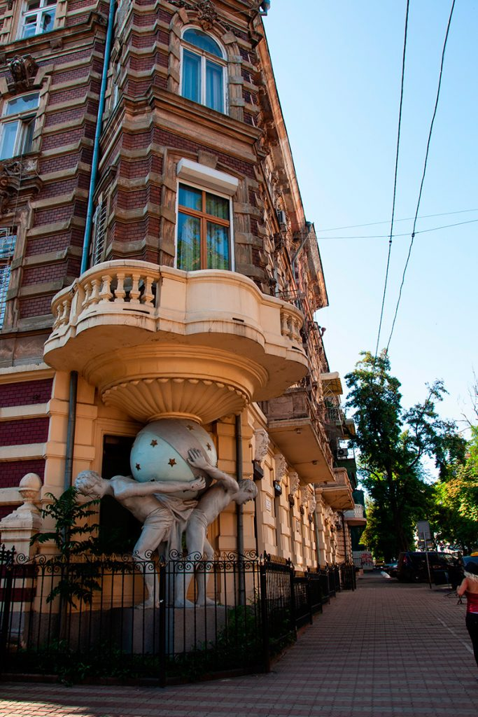 Дом с атлантами, Одесса