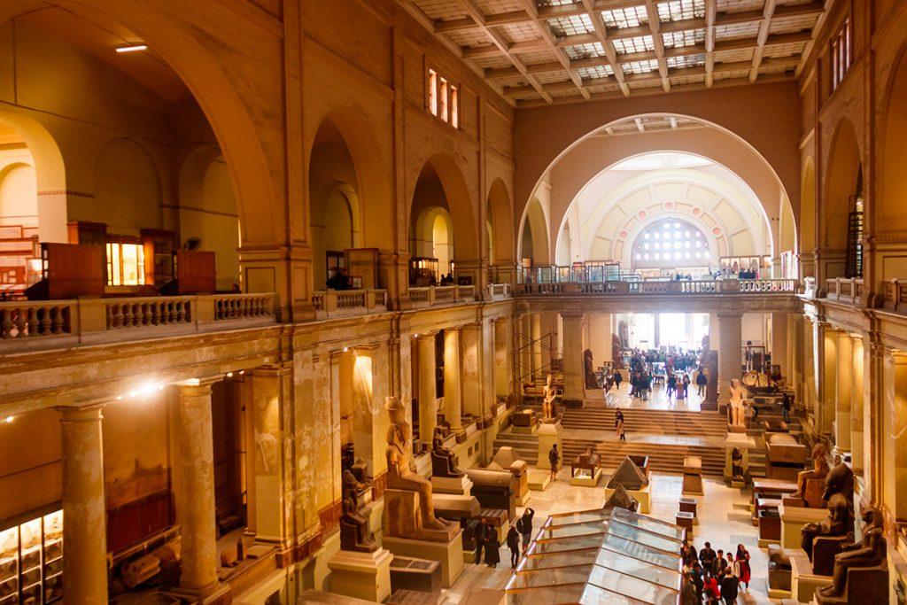 Каирский египетский музей, зал