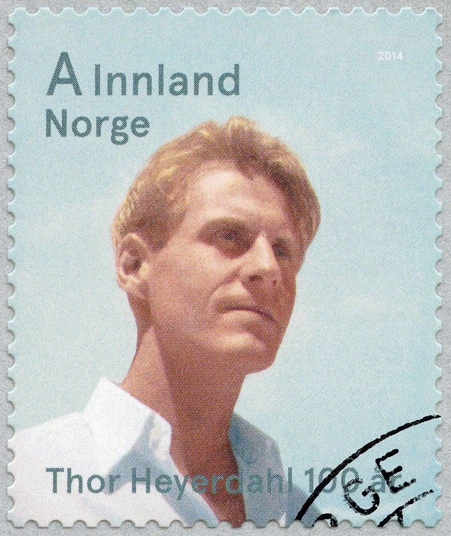 норвежец Тур Хейердал