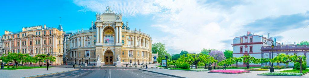 Одесса, город, оперный театр, прогулка, путешествие