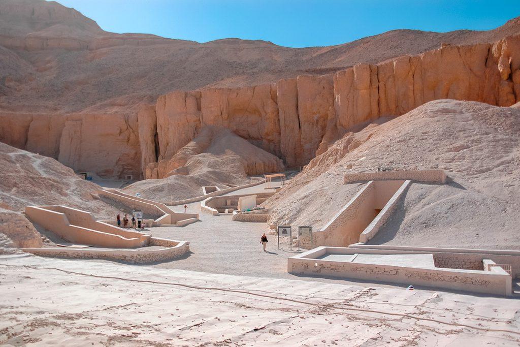 гробница Тутанхамона, Египет, история
