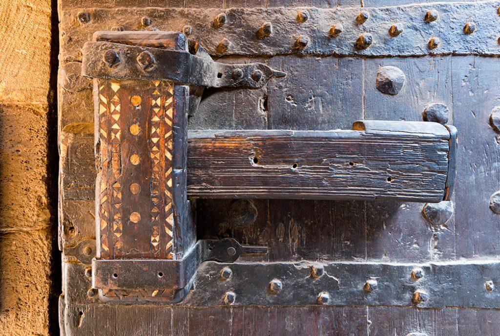 дверь, замок, Египет