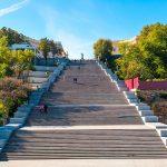 Потёмкинская лестница , Одесса, Приморский бульвар