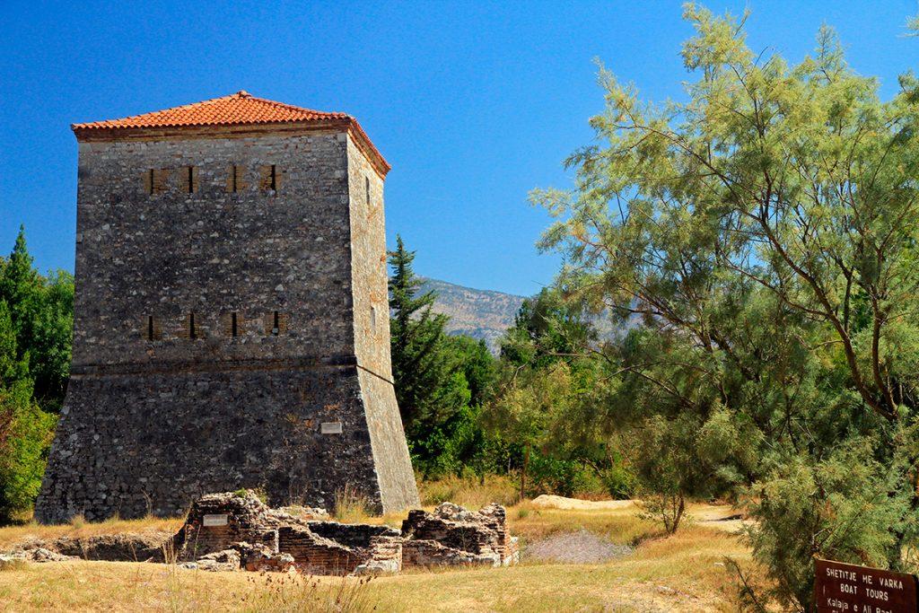 крепость Али Паш Тепелена, Албания, башня, история , путешествие