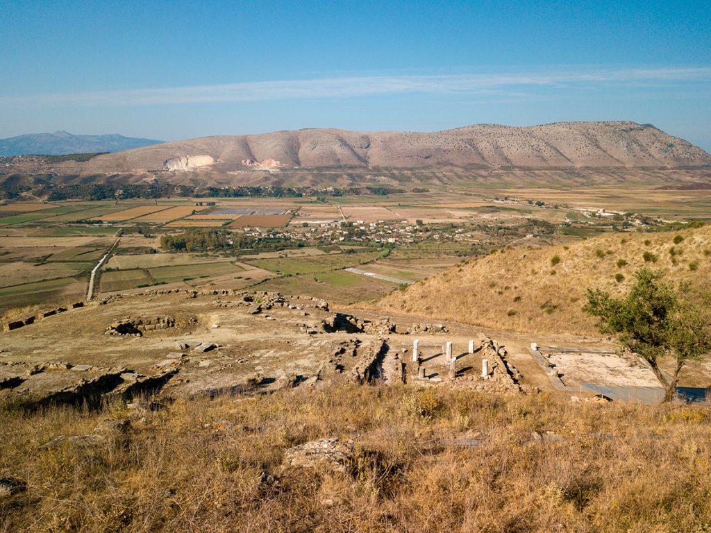 Албания, раскопки, руины, горы, история, природа