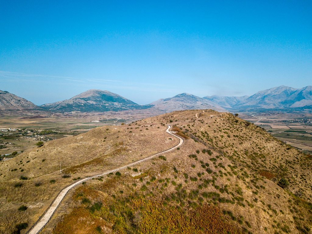 Албания, раскопки, руины