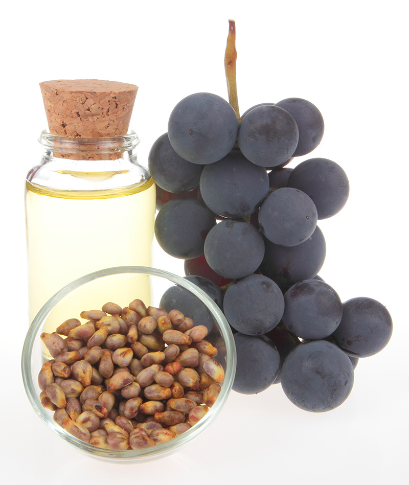 масло, виноград