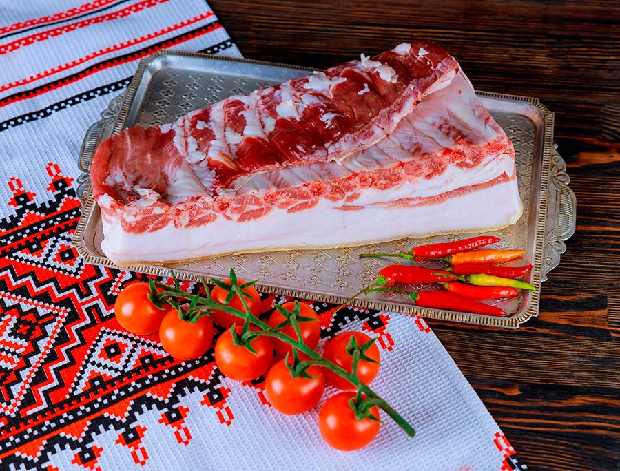 сало, рушнык, украинское сало, рецепт