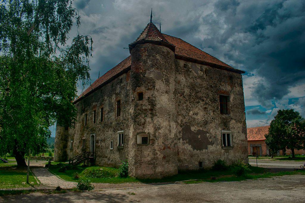 Сент-Миклош, замок,Украина, история, красота