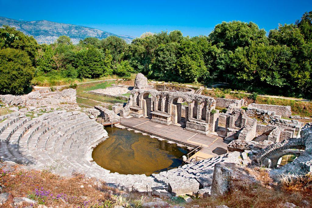 Саранда, Албания, море, отдых, путешествие, история, руины