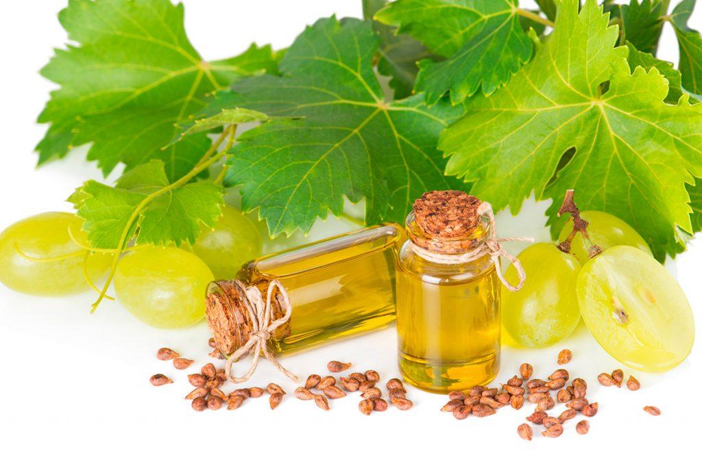 виноград, косметика, масло