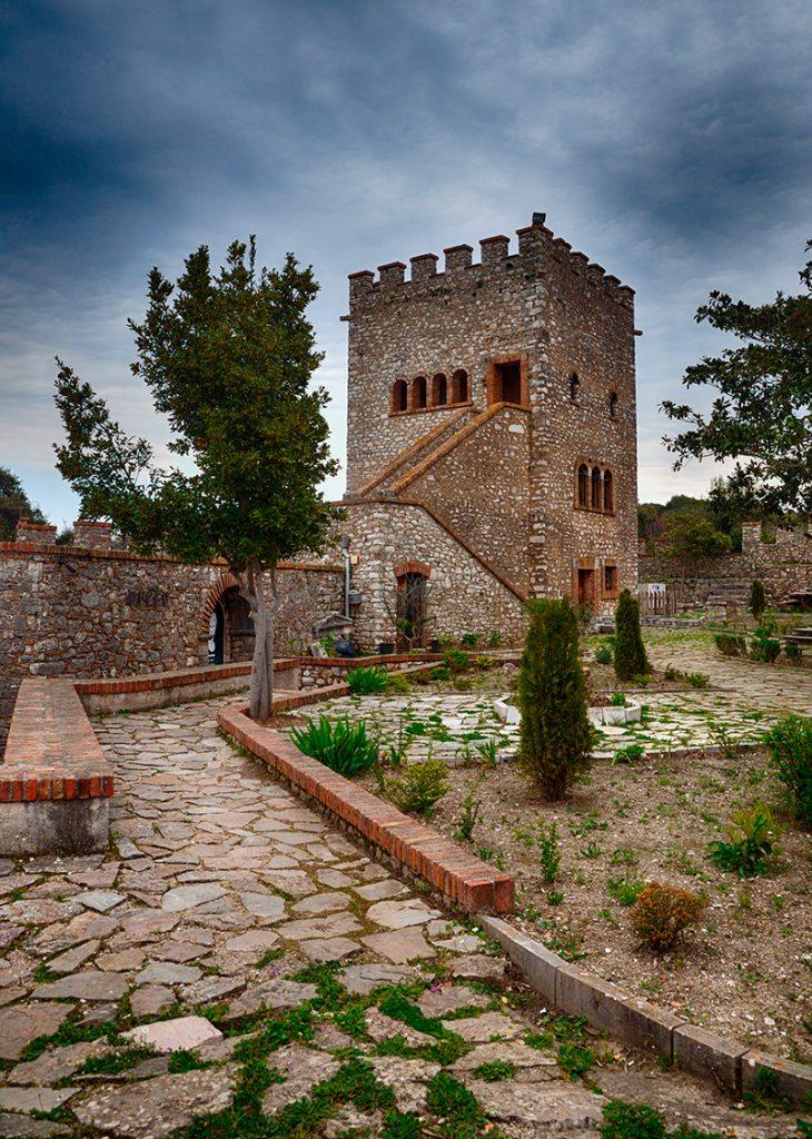 Бутринти, крепость, руины, ЮНЕСКО, Саранда , Албания