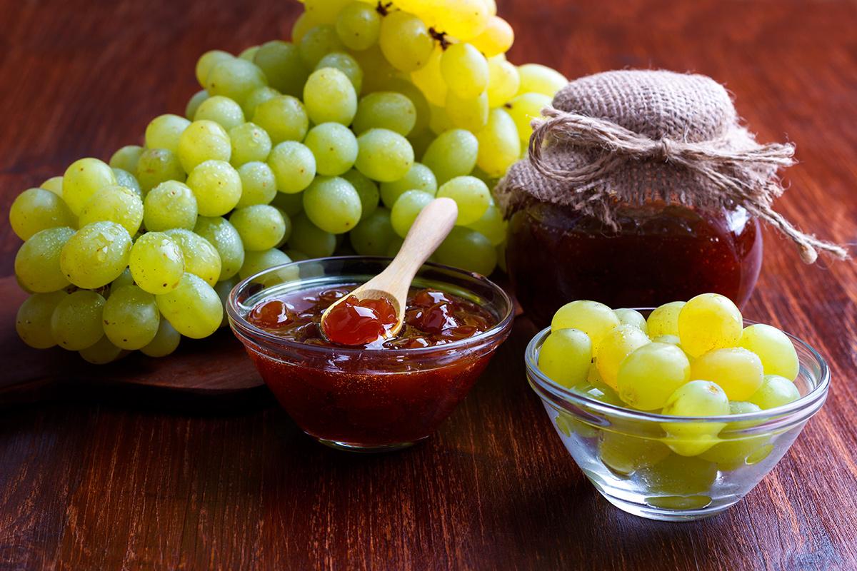 еда, виноград, варенье. рецепт, витамины