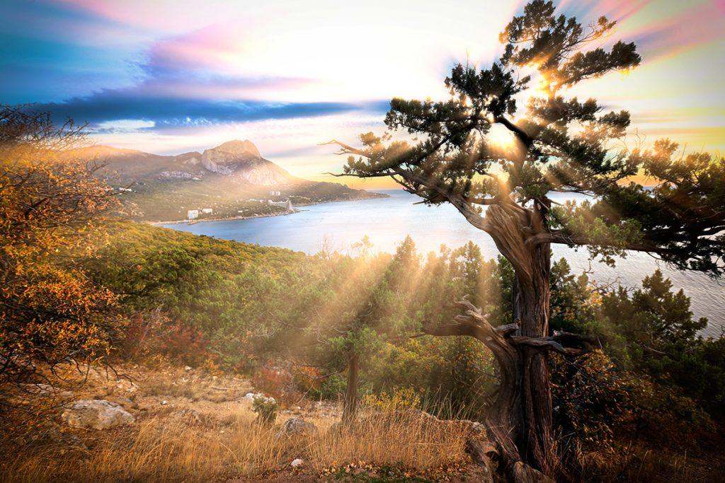 Крым, осень, Украина, путешествие, бархатный сезон