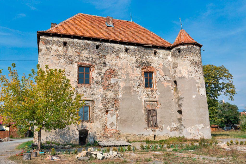 Сент-Миклош, замок,Украина