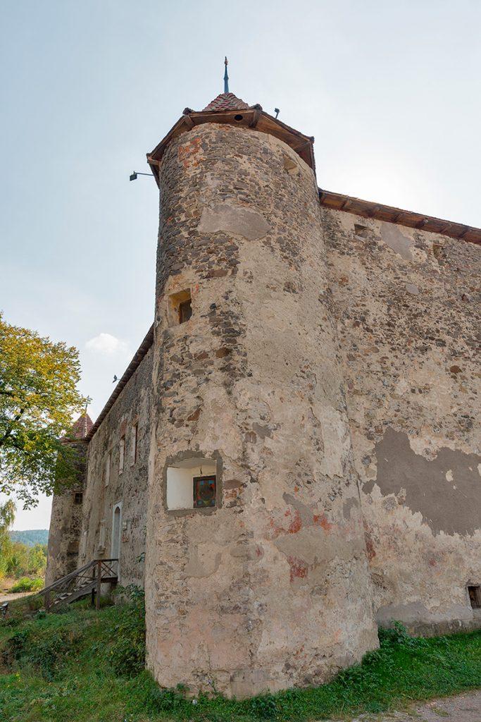 Сент-Миклош, замок, Украина