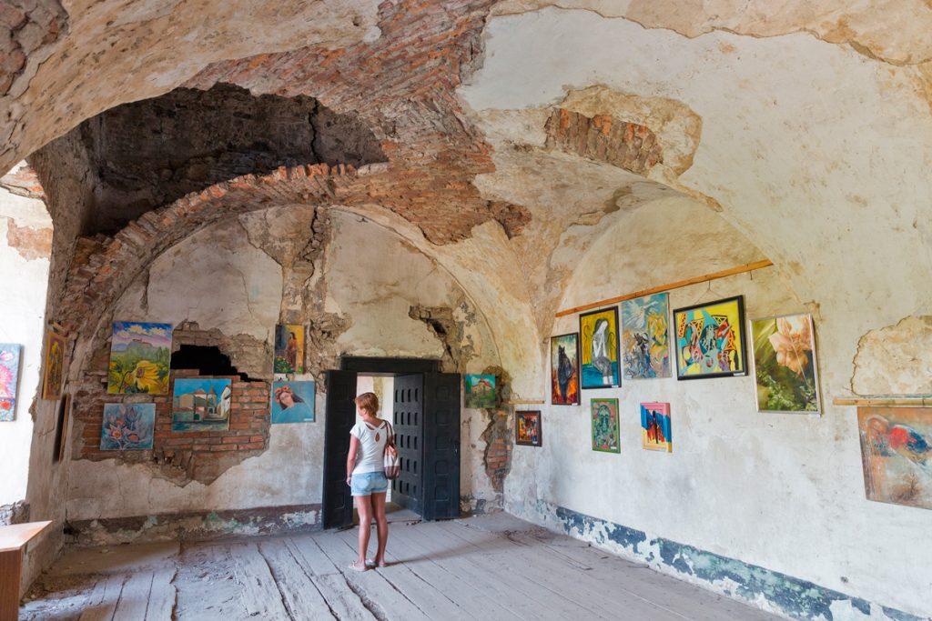 Сент-Миклош, замок,Украина, история, красота, зал