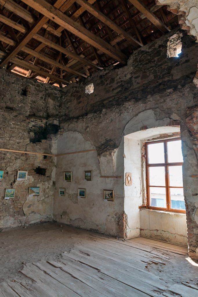 Сент-Миклош, замок, Украина ,интерьер