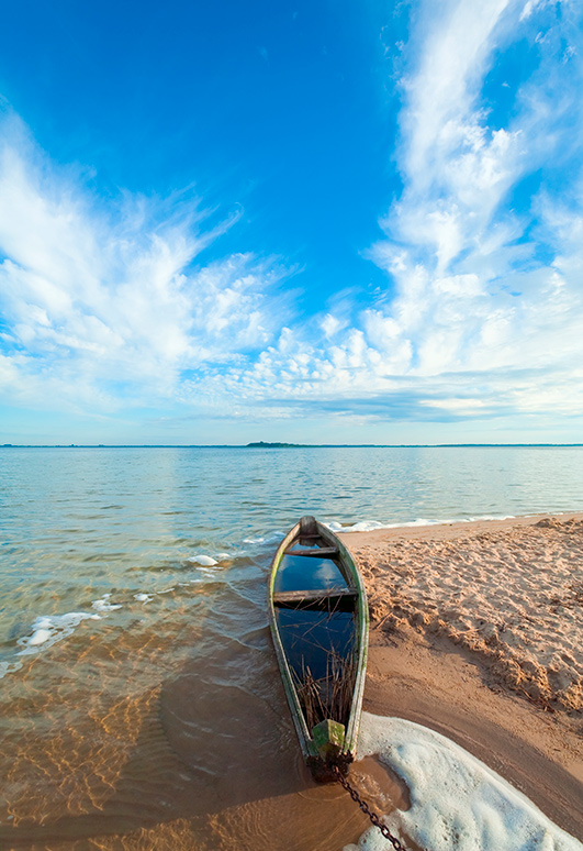 Украина, озеро, Свитязь, Волынь, природа, лодка, красота, чистота