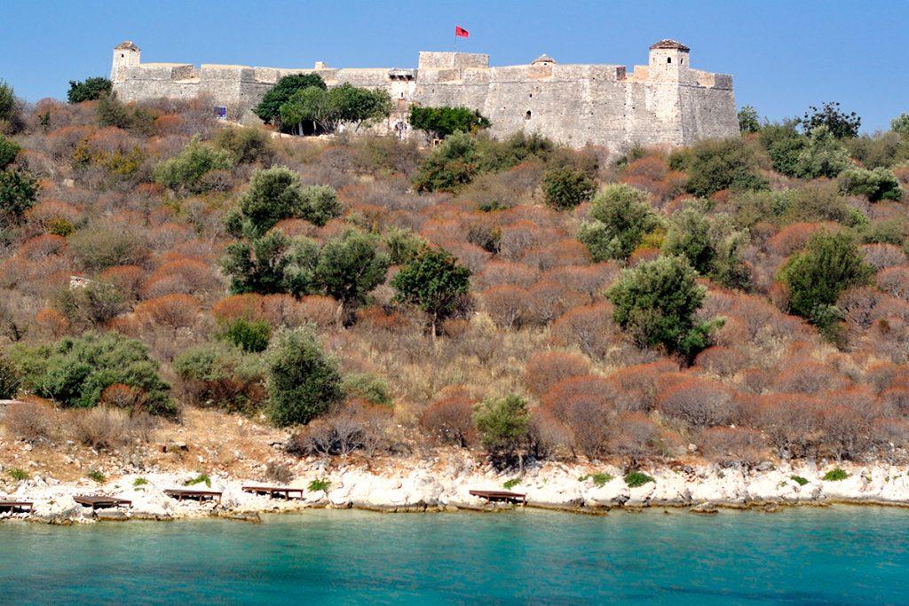 крепость Али Паш Тепелена, Албания, история , путешествие