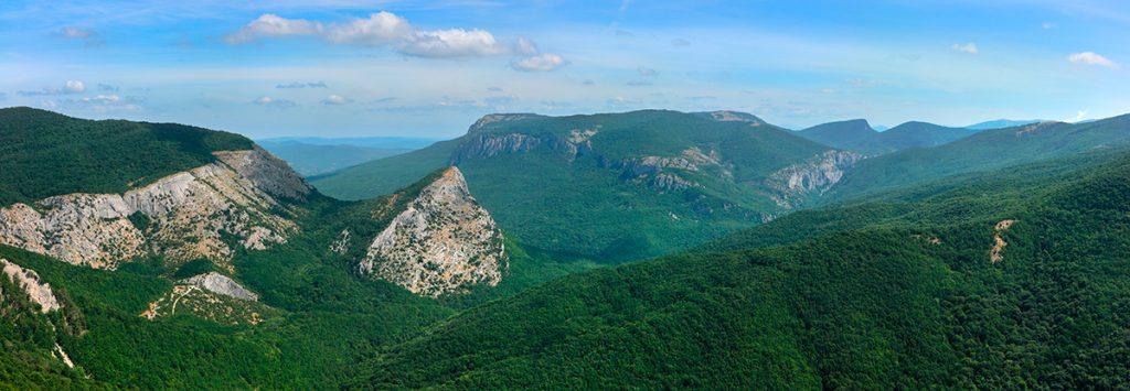 Большой каньон Крыма, Украина, горы, природа