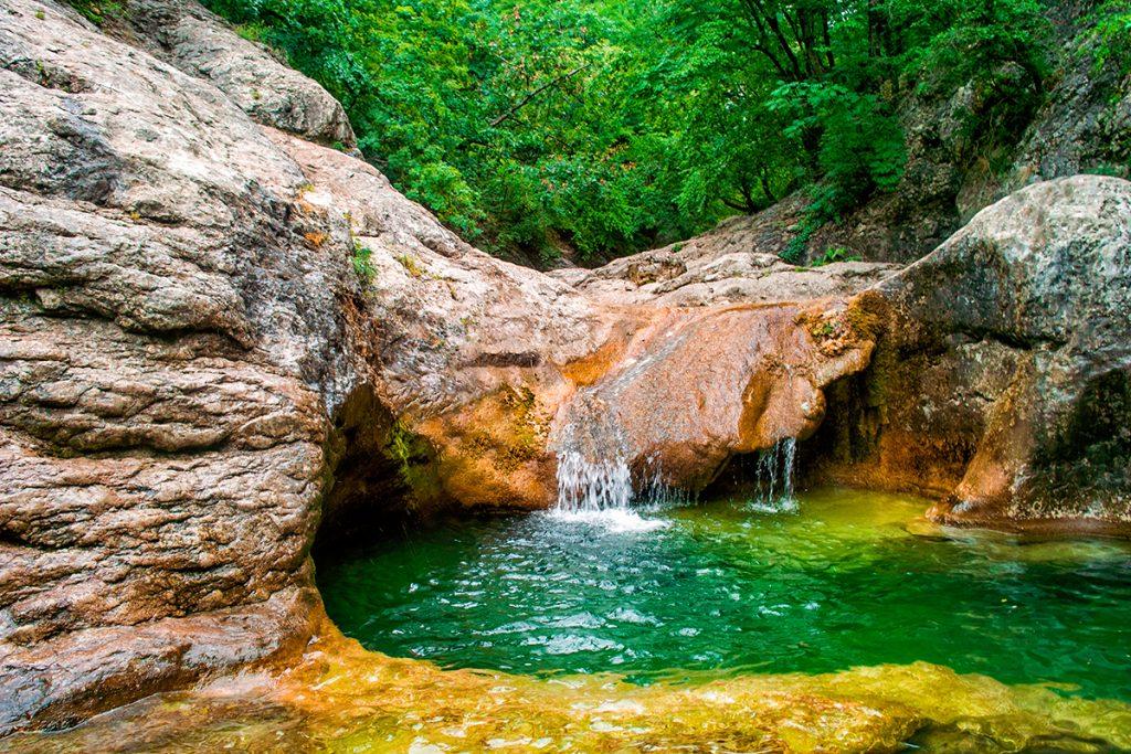 Большой каньон Крыма, Украина, Крым, река, природа, лето, путешествие