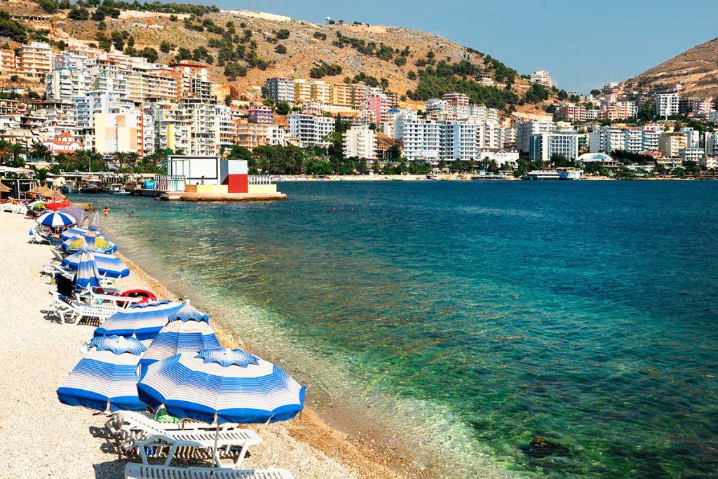 Саранда, Албания, море, отдых, путешествие
