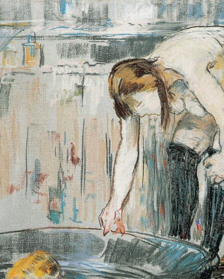 Женщина с тазом 1879 Эдуард Мане