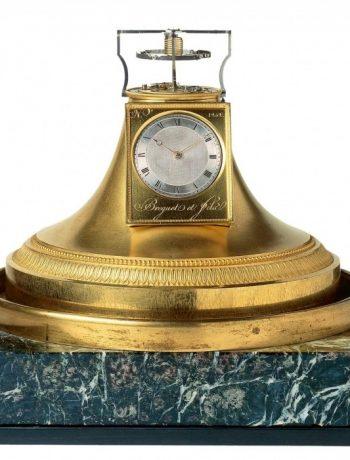 Breguet, Настольные старинные Breguet с турбийоном, турбийон
