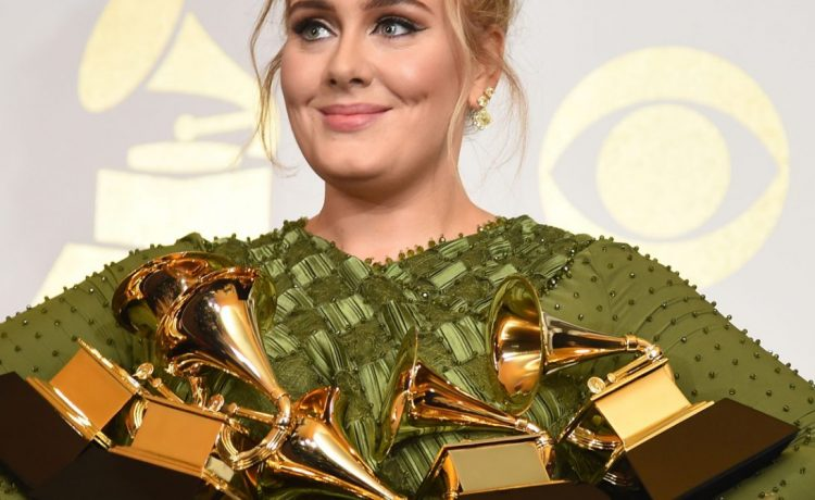 Adele the 59th Annual Grammy music Awards