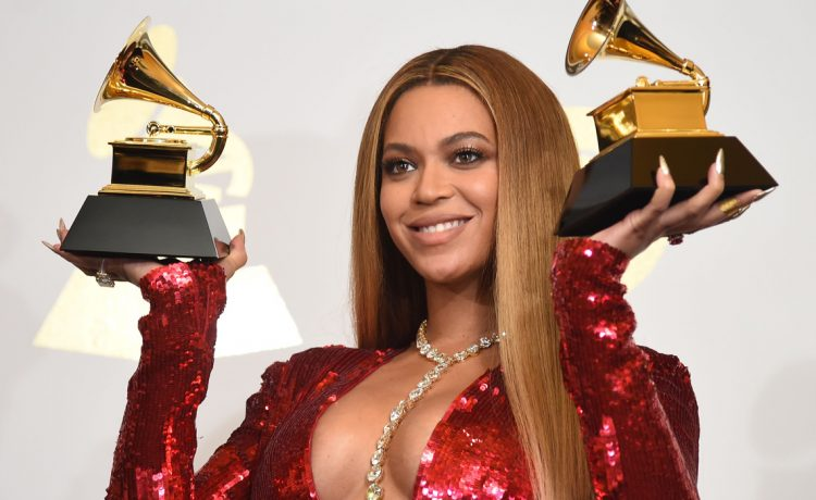 Beyonce the 59th Annual Grammy music Awards