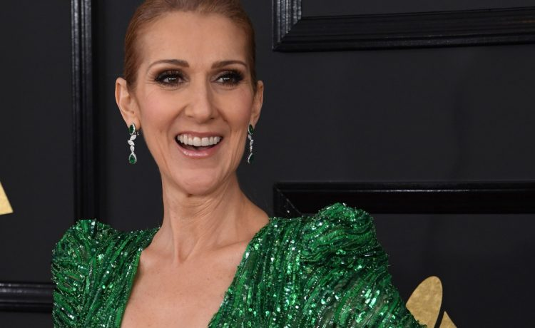 Celine Dion the 59th Annual Grammy music Awards