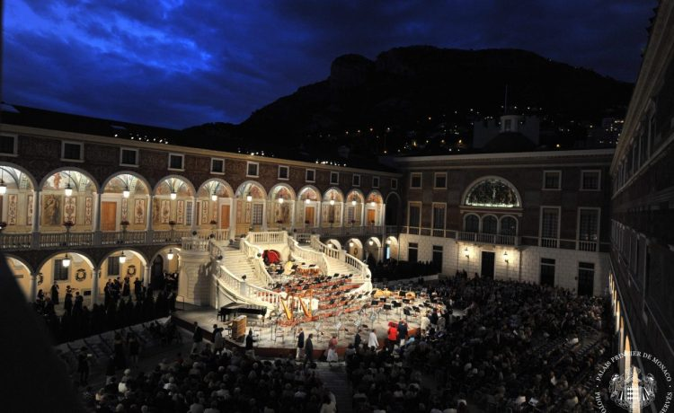 Концерт, Монако, дворец Монако, династия Гримальди
