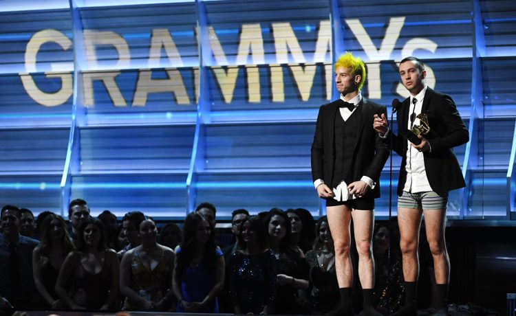 the 59th Annual Grammy music Awards