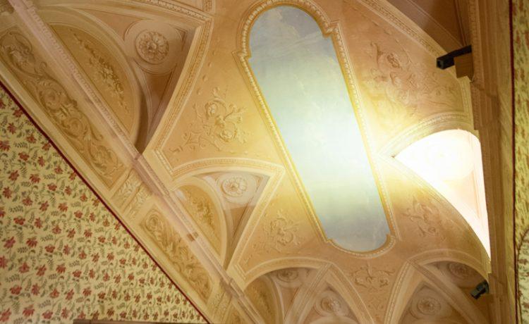 Монако, дворец Монако, династия Гримальди, комната Луи, плафон
