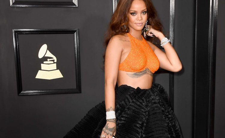 Rihanna the 59th Annual Grammy music Awards