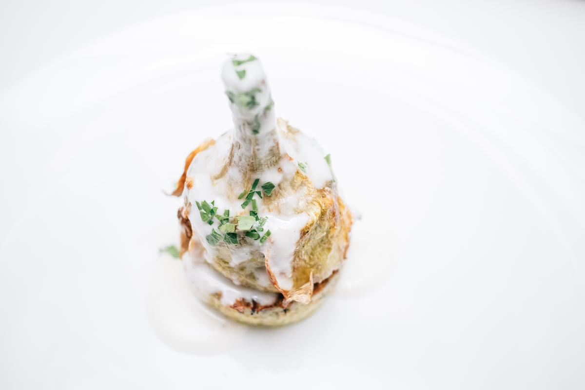 артишок, рецепт, Гаэтано Варко, шеф-повар, фестиваль сицилийской кухни, итальянская кухня, киев, отель опера, ресторан Театро
