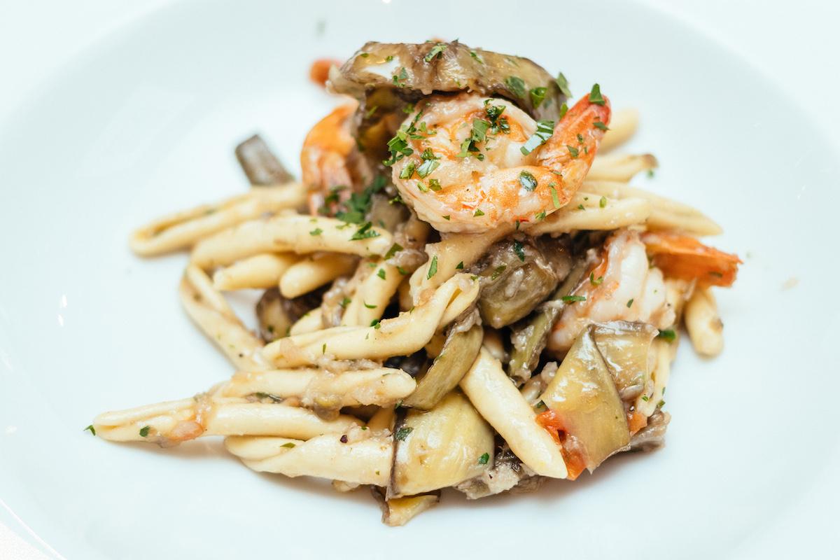 артишок, рецепт, блюда из артишока, сицилийская кухня, морепродукты
