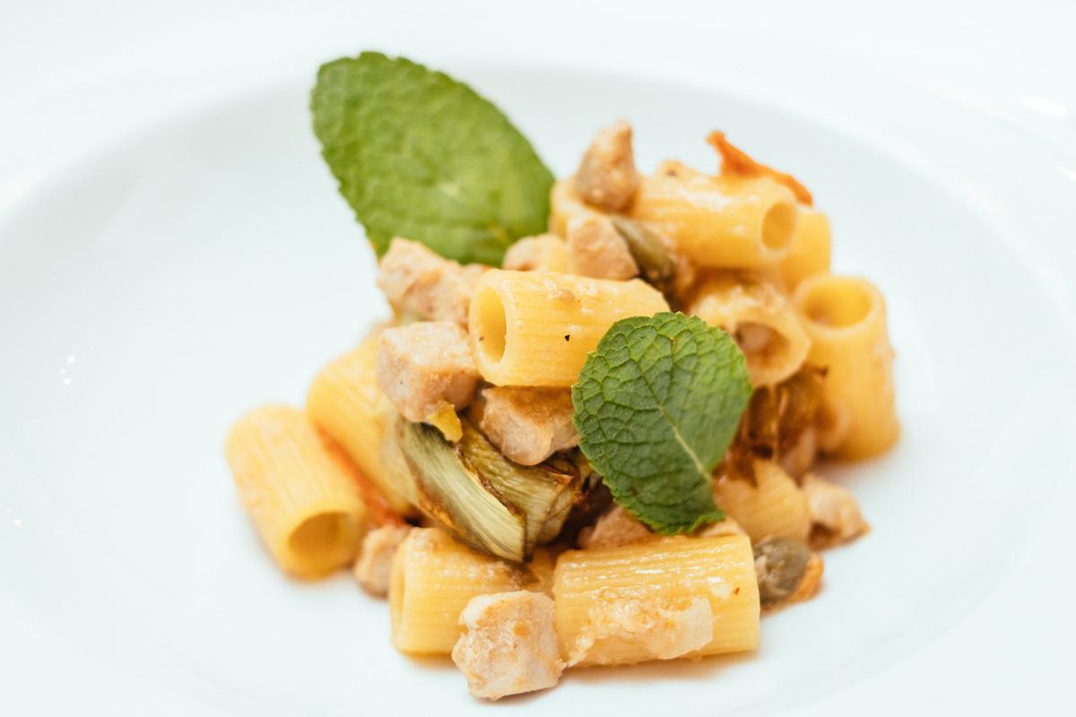 артишок, рецепт, блюда из артишока, сицилийская кухня, паста