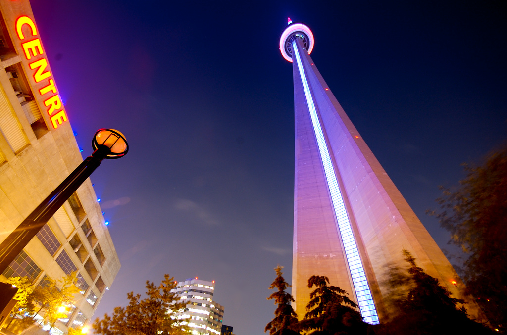 CN Tower, Путешествие в Торонто