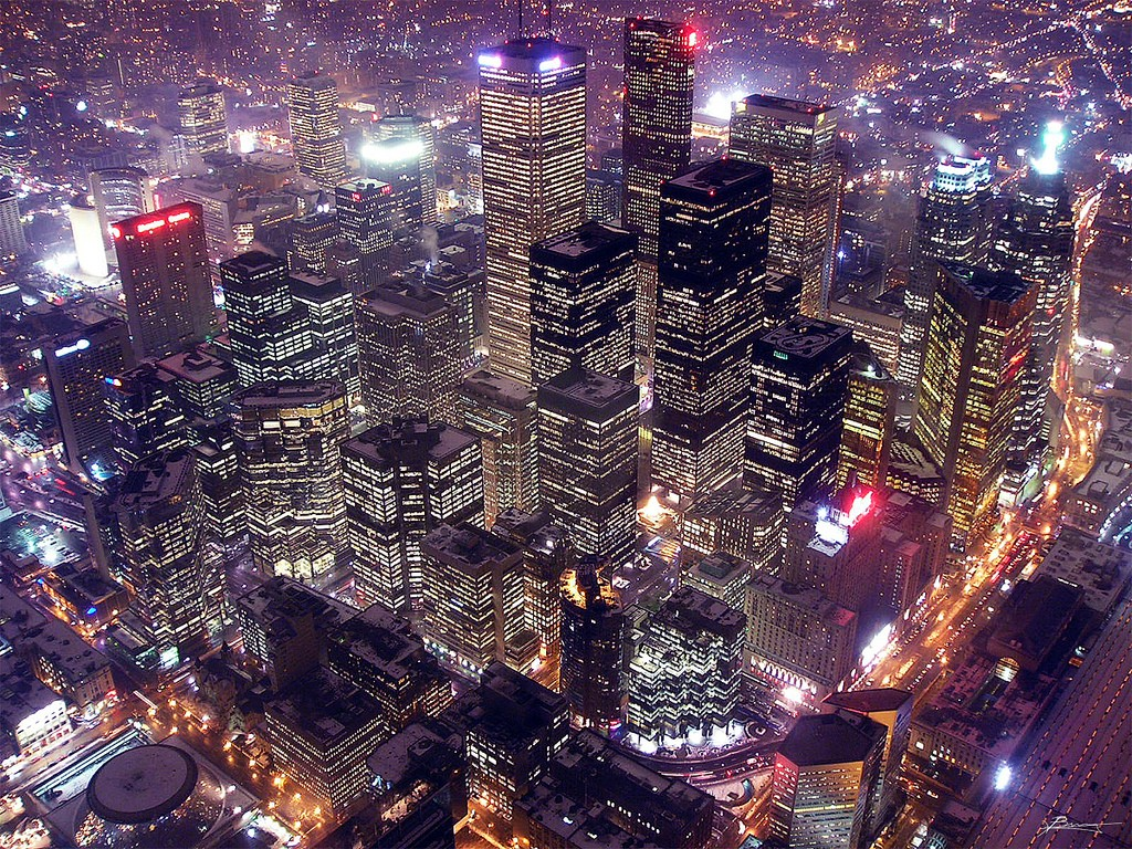 CN Tower Toronto view, Путешествие в Торонто