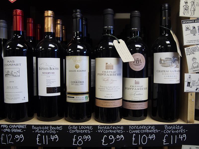 Вино региона Corbieres, Лангедок-Руссильон, французские вина