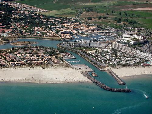 Cap d'Agde, Кап Даг, Франция, город нудистов, курорт